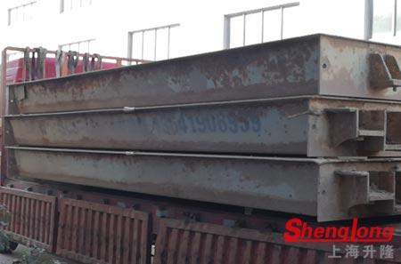 5月28日台州椒江杨经理采购1台二手3节14米旧地磅